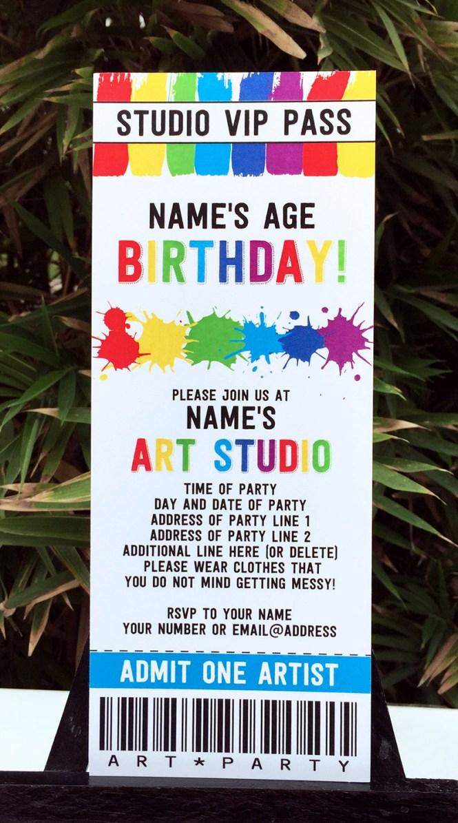 hockey birthday party invitations printable : Cogimbo.us