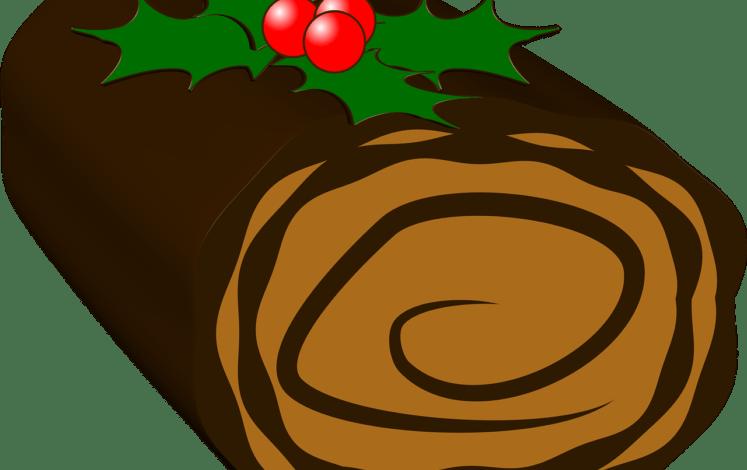 Bûche chocolat Hincker Pixabay yule-log-528345_1280