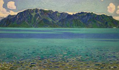 Ferdinand Hodler, Le Grammont, 1905, Huile sur toile