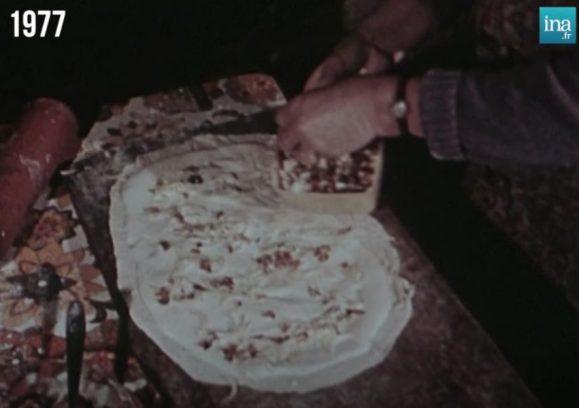 tarte flambee emission Poliakoff