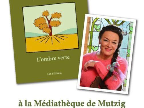Ombre verte médiathèque Mutzig affiche
