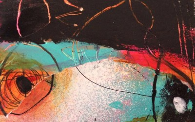 Video: Collage on a business card #2