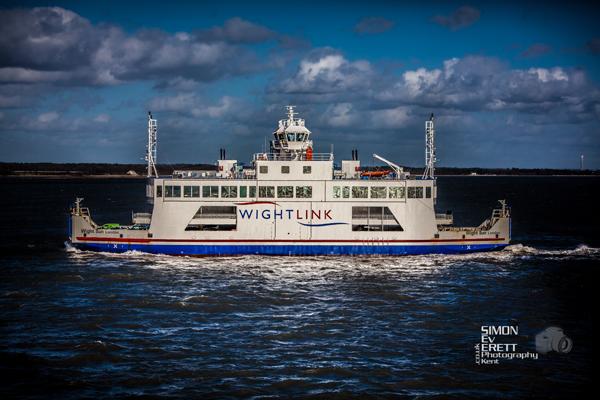 Isle of Wight Ferry crossing