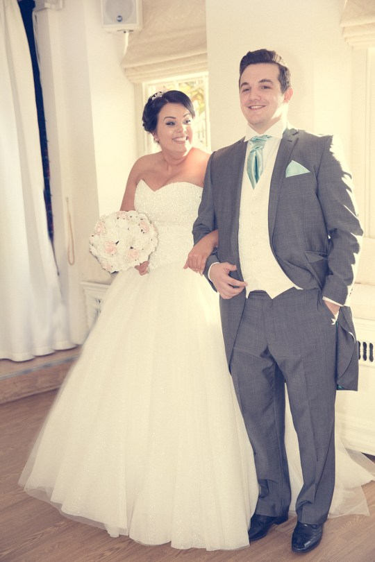 Feel comfortable with your wedding photographer