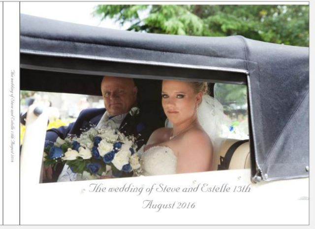 Estelle and Steve Wedding 2016