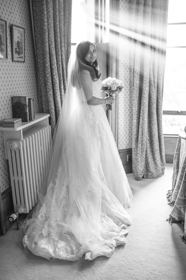 Ledbury castle wedding photography