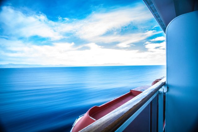 Long exposure at sea