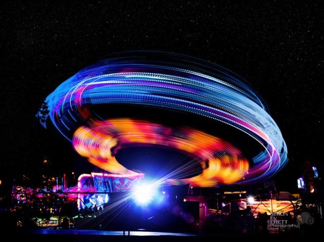 Fun fair fun in kent