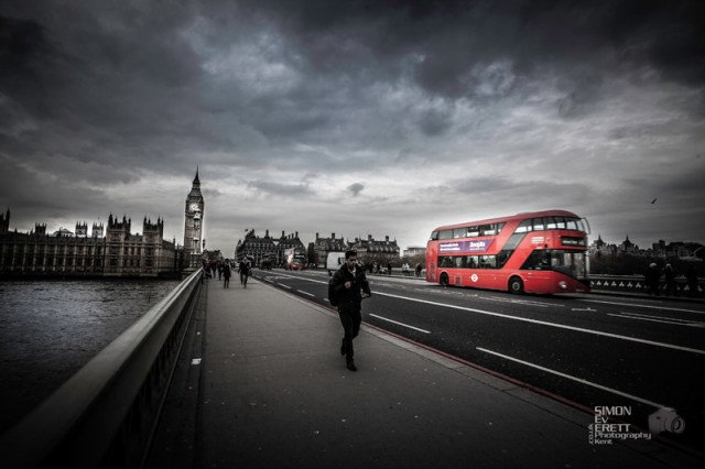 London westminster 2014 red bus