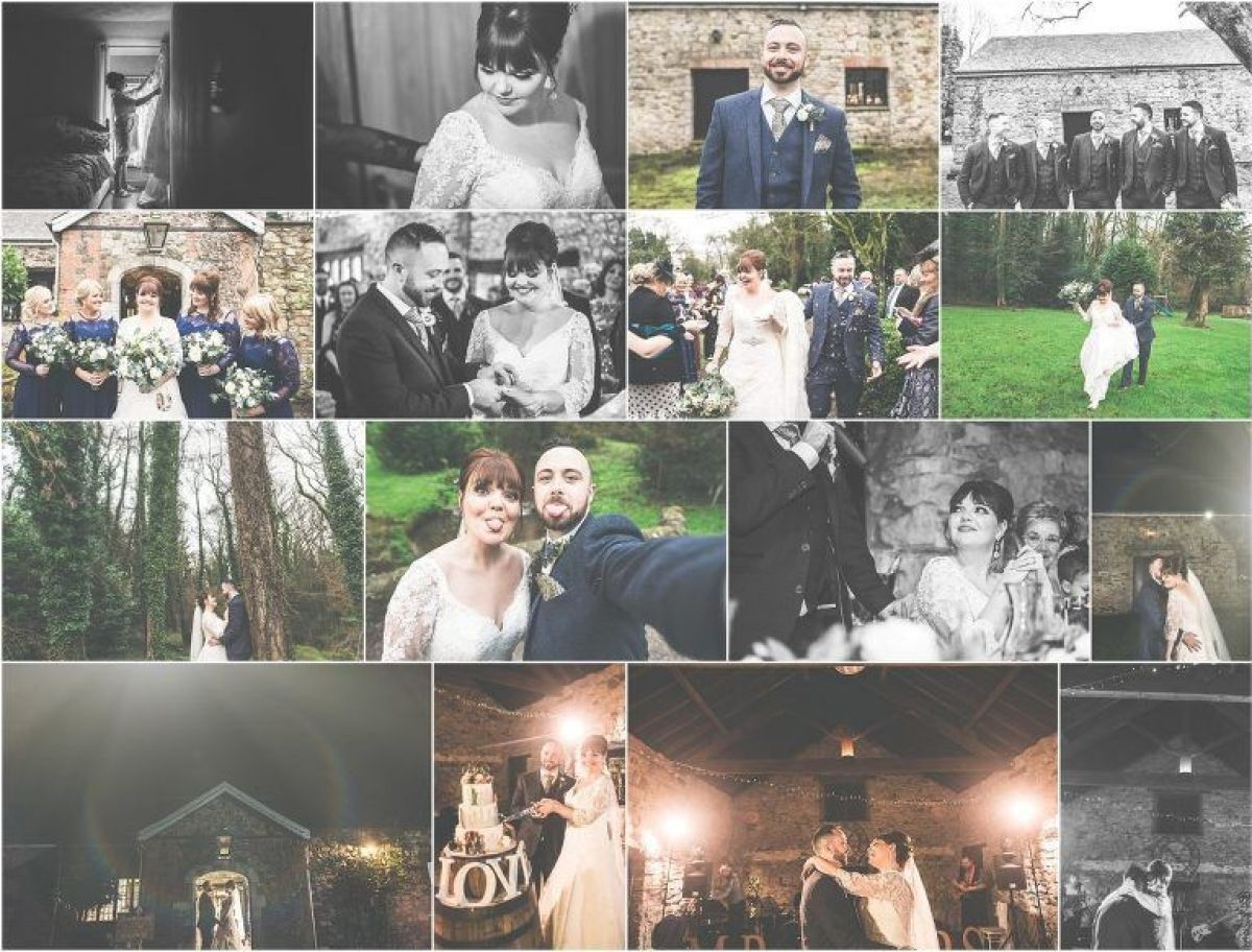 December wedding in south wales