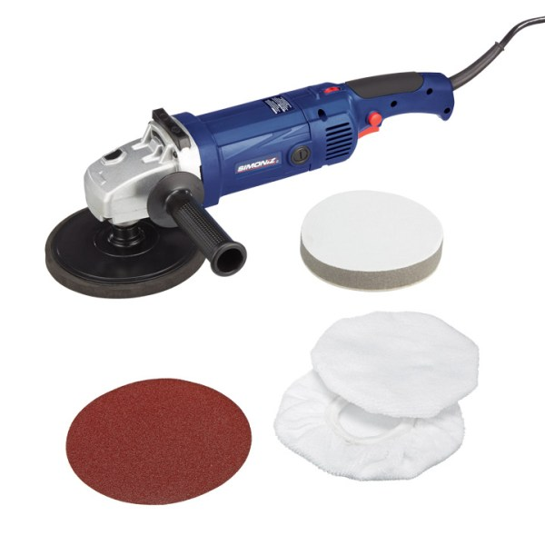 Simoniz Polishers - Sander & Waxer, Orbital Polisher, Grip ...