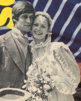 Simon MacCorkindale and Fiona Fullerton