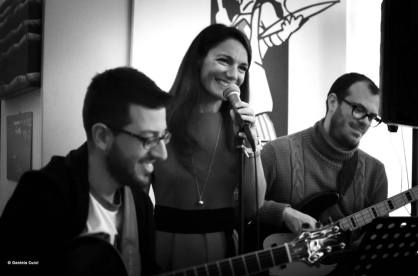 Live with BevoBossa, 2014. (C) Daniela Curci