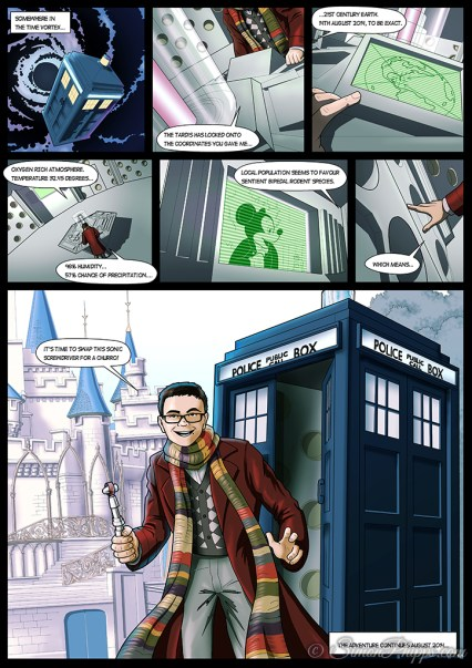Ciaran's Doctor Who