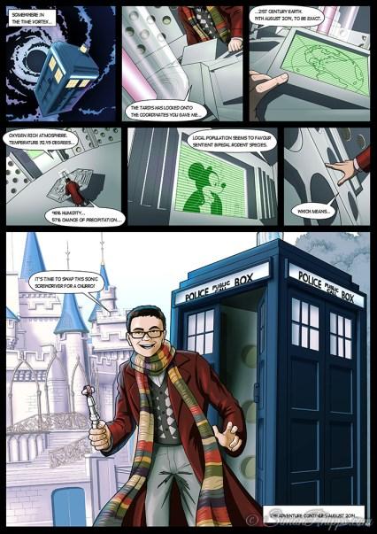 Ciaran's Doctor Who