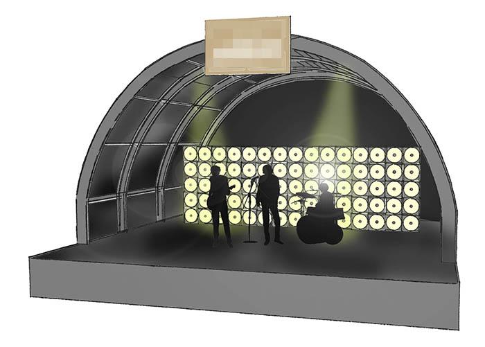 Hotel Theme Stage Design
