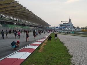 Sepang F1 track