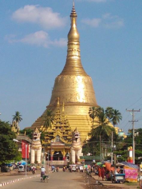 Pagoda at Bago
