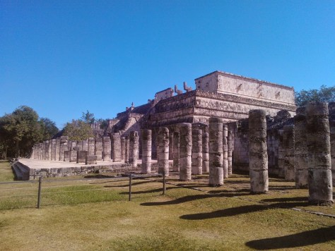 Temple Of Warriors - Chichen Itza