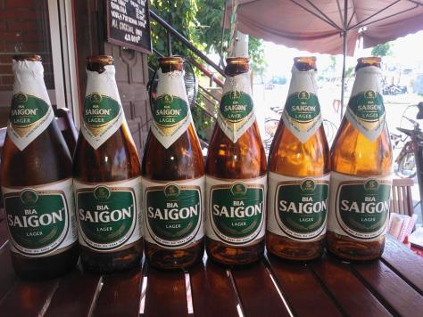 Beers of vietnam saigon
