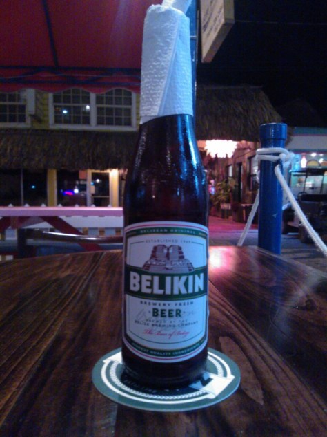 Beers of belize Belikin beer