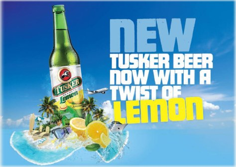 Tusker beer