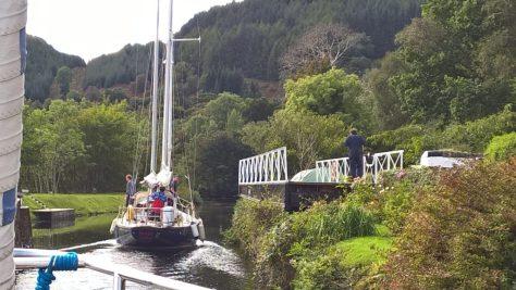 Crinan canal scotland