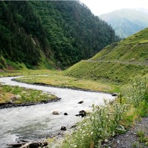 On the way to Tusheti