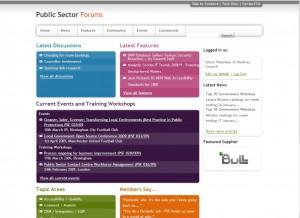 Public Sector Forums