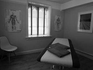 Soft Tissue Therapy room