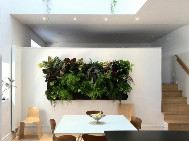 5 Wall Mounted Planters via simphome