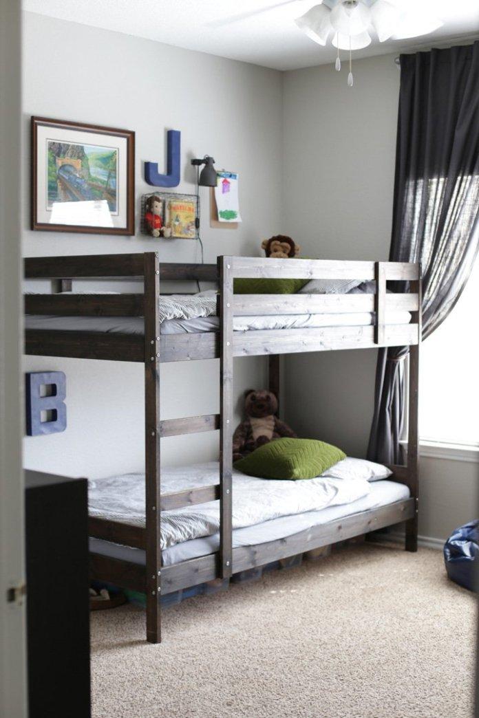 1 IKEA Mydal bed makeover via simphome