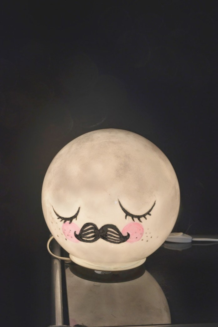 27 Find the man in the moon in Ikeas Fado lamp via simphome