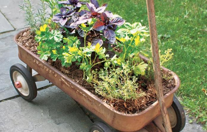 6 Wagon Planter via simphome