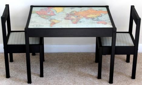 7 Spruce up the Latt table with a world map 2 via simphome