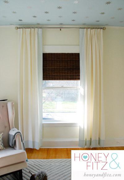 8 Add a fun border to plain curtains 1 via simphome