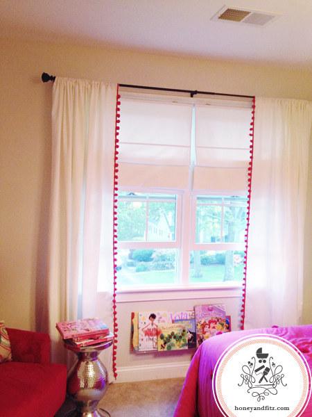 8 Add a fun border to plain curtains 2 via simphome