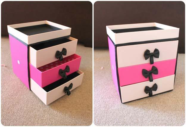 simphome diy makeup box