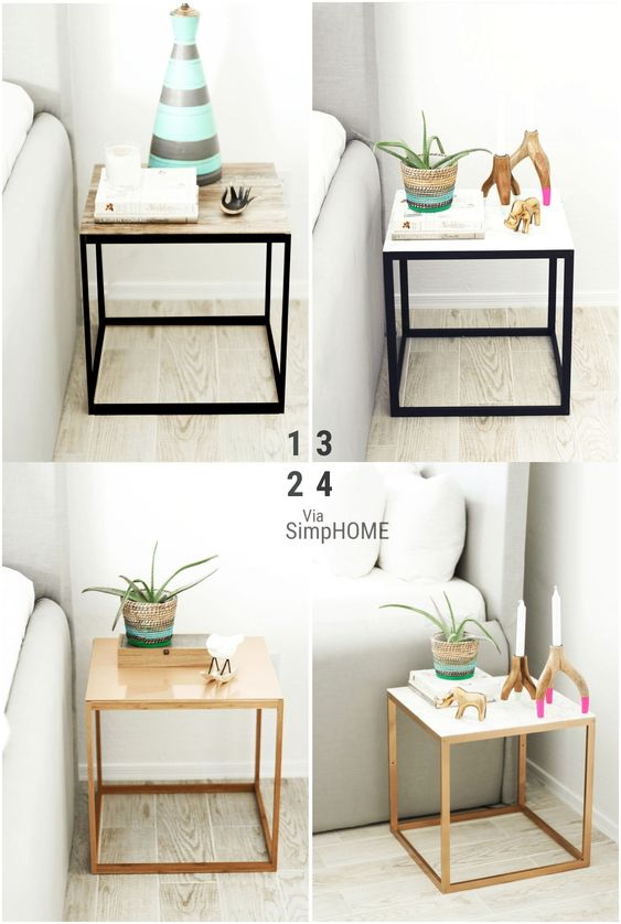 22 4 ways IKEA night stand hack via simphome