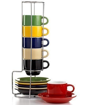 Stackable mug display