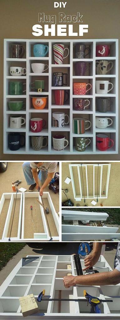 custom mug rack