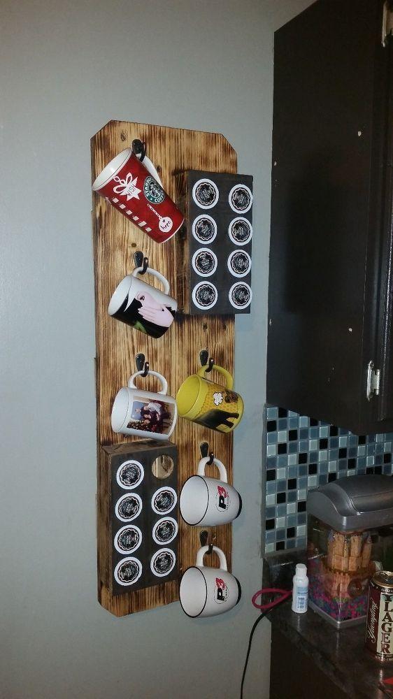 hanging mug pallet