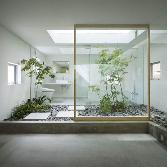 simphome inside garden