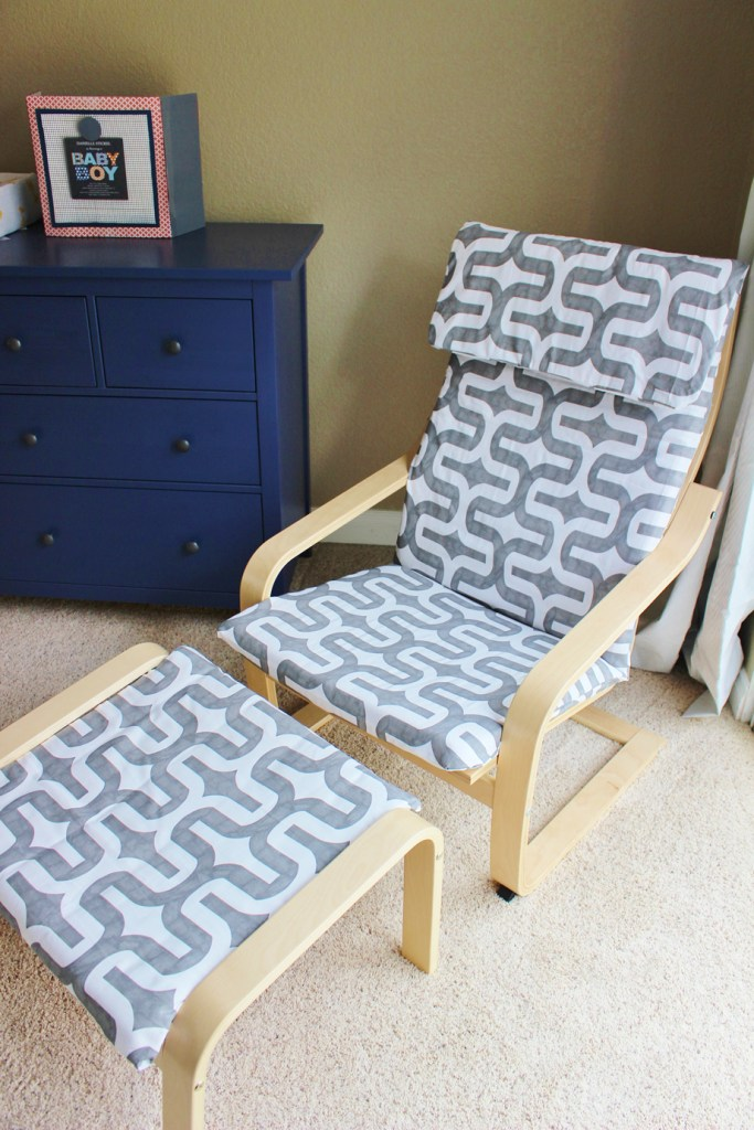 15 IKEA Poang Chair hack with Slipcover 683x1024 Simphome com