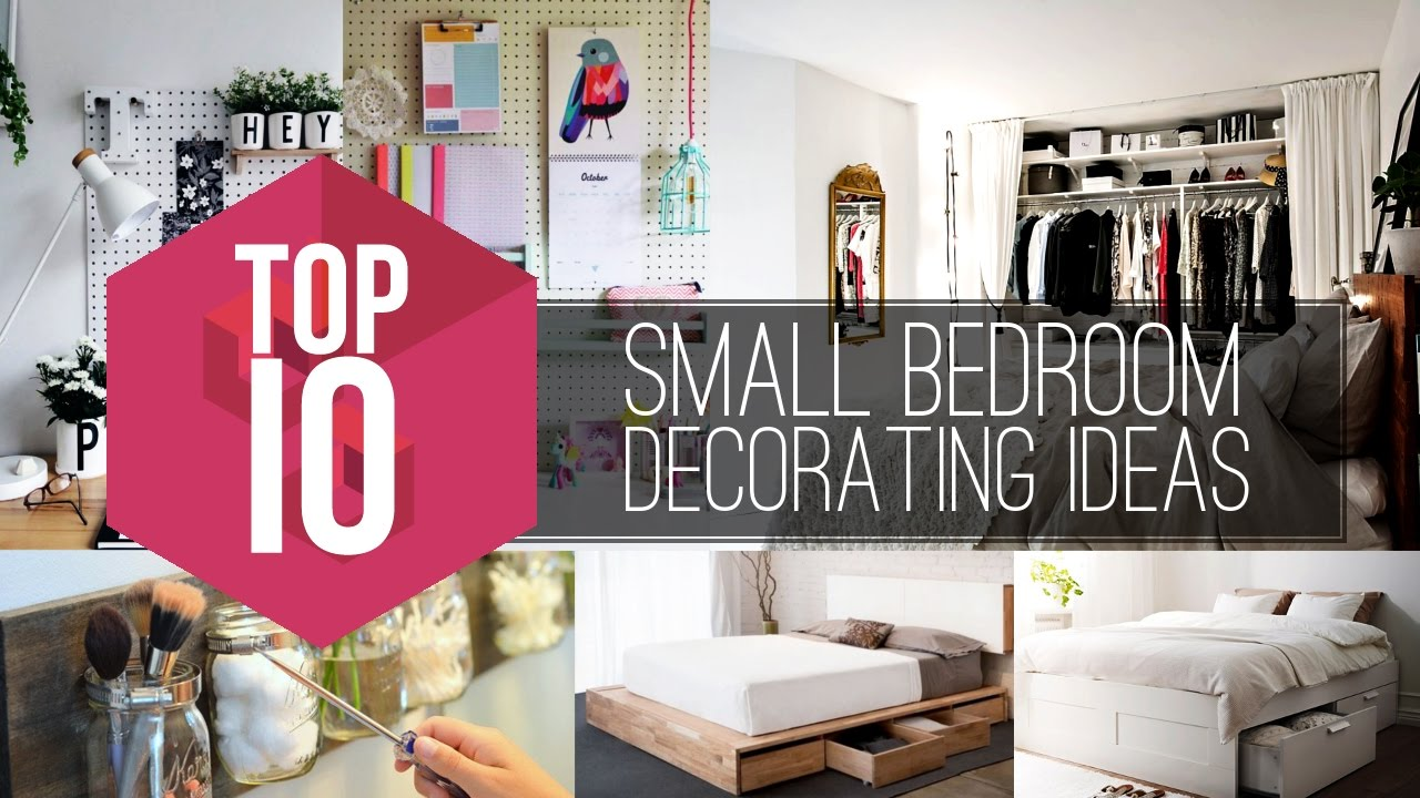 10 Small Bedroom Decorating Ideas Simphome