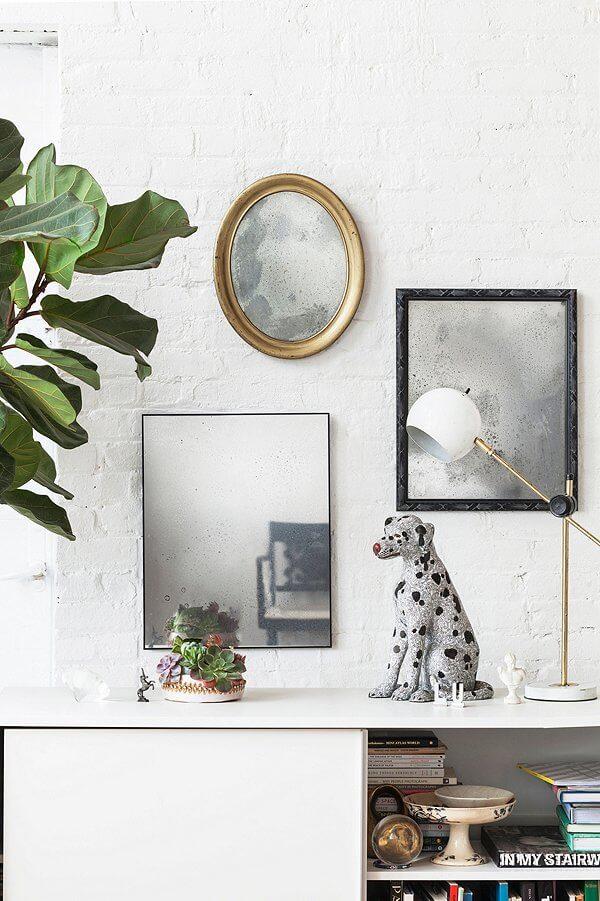 3 Antiqued Mirror Simphome com
