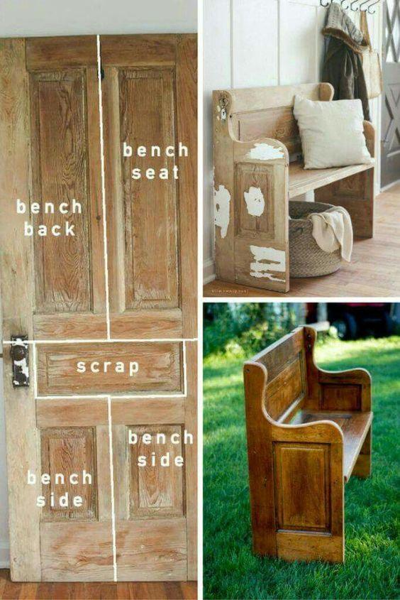 A Wooden Bench Simphome com