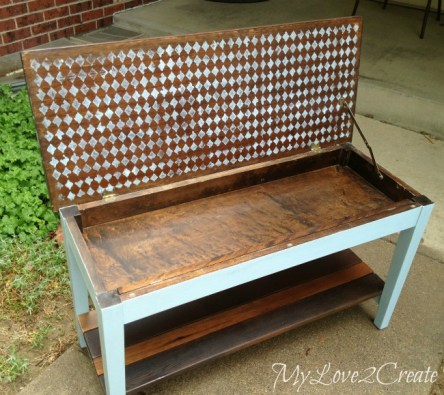 17 French Inspired Piano Bench Makeover 2 Simphome com