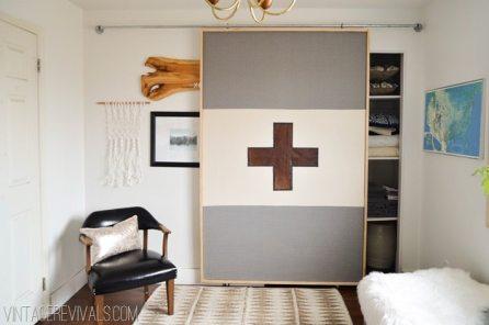 19 How To Build A Lightweight Sliding Barn Door simphome com 3