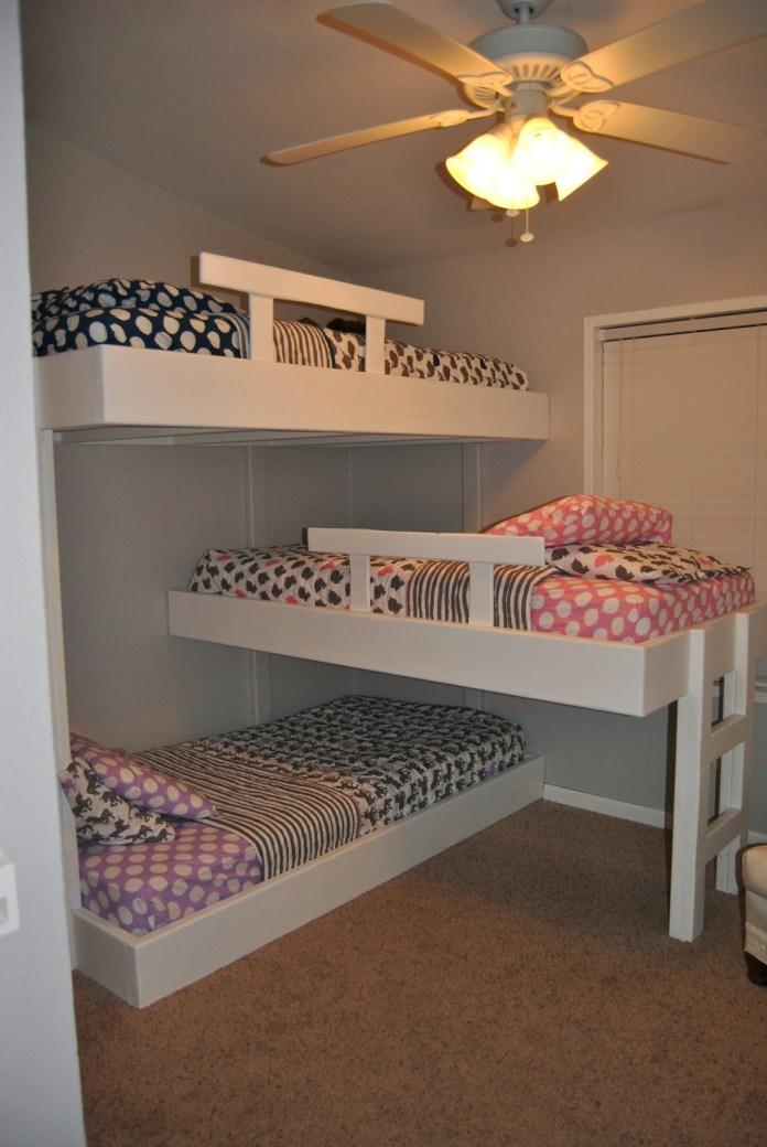 Triple Bunk bed Simphome 3